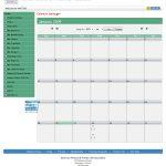 Task calendar.
