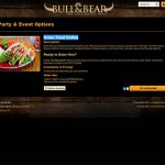 Order food online page.
