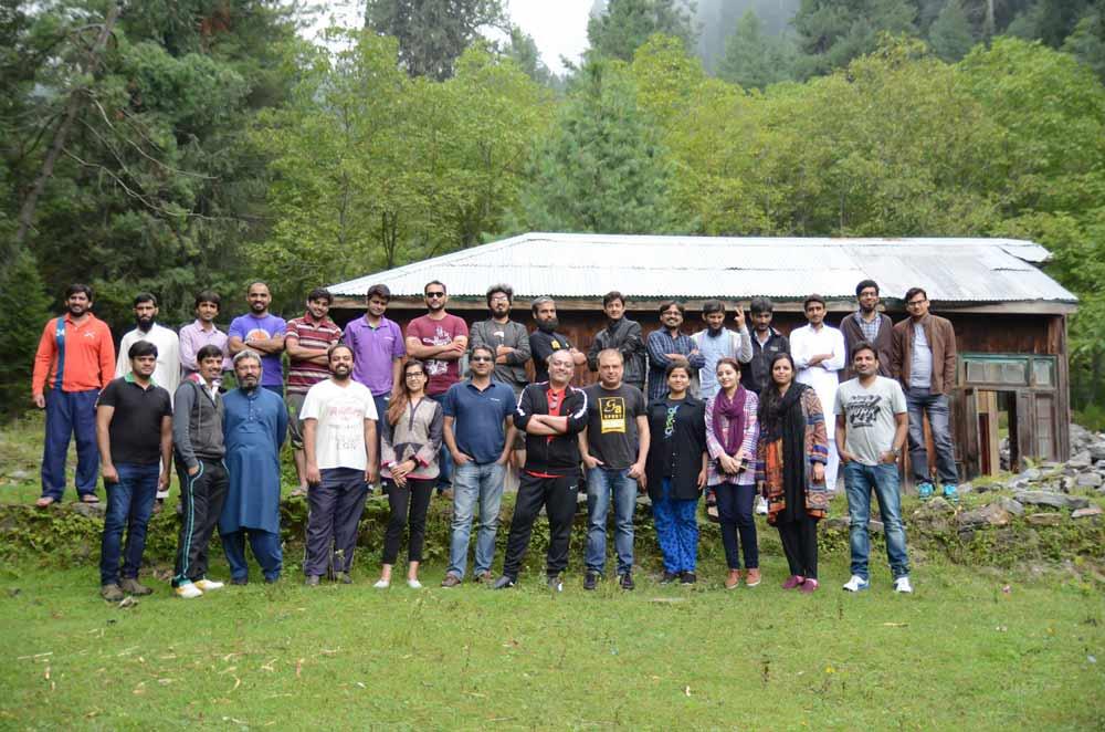 Sharan Office Camping Trip 2016
