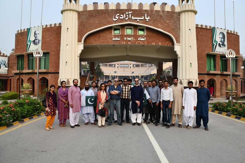 Visit To Wahga Border