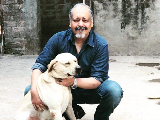 Mamoon Rashid - CEO of Hashe Computer Solutions (Pvt.) Ltd. - and his dog Max