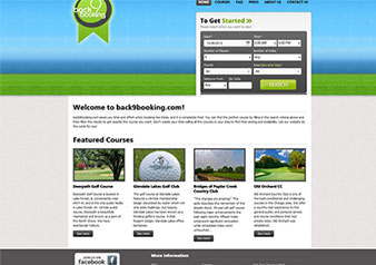 Back9Booking (Online Booking System)