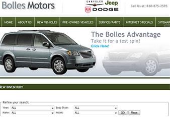 Vehicle Inventory Management and Web Publishing System