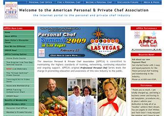 American Personal & Private Chef Association™ Web Portals