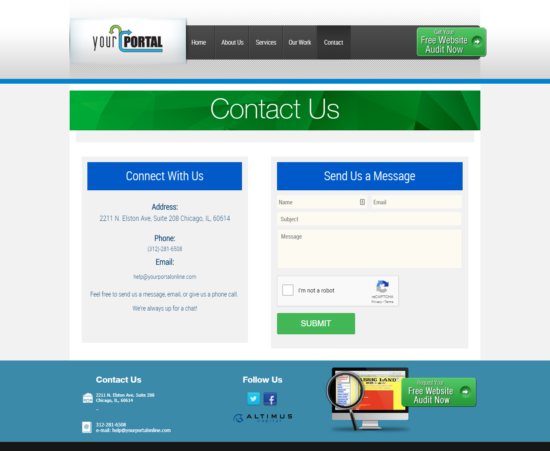 Your Portal Contact Page