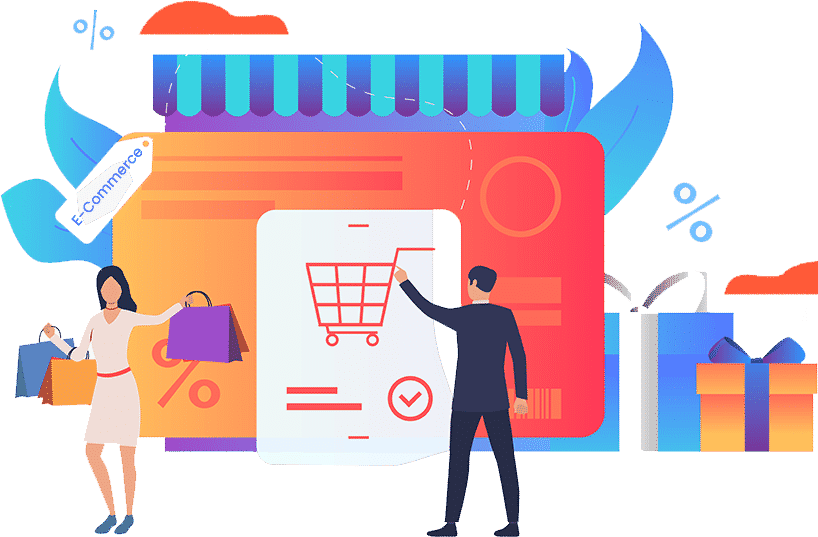 We are Offering <span>E-Commerce</span> Website Development Packages. <small>We Act as Your IT Wing</small>, Hashe Computer Solutions (Pvt) Ltd.