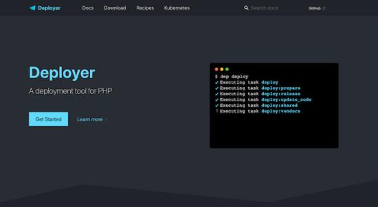 Deployer Screen