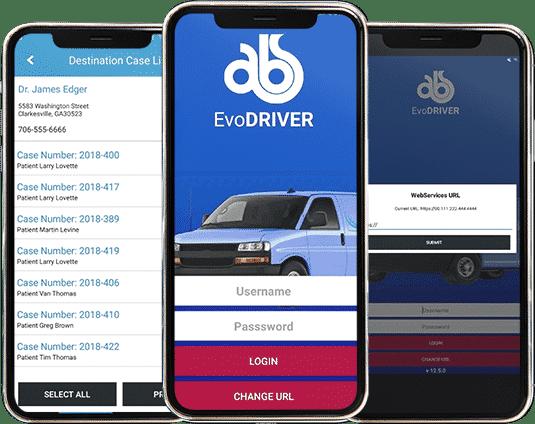 EvoDriver on Mobile