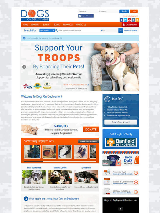 Old Dogs on Deployment Web Page Picture