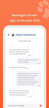DoD Message screen