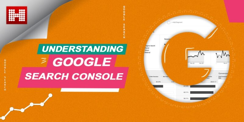 Google Search Console with a Big G on right side