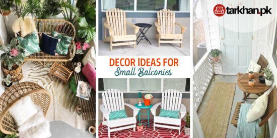 Decor Ideas for Small Balconies Tarkhan Website
