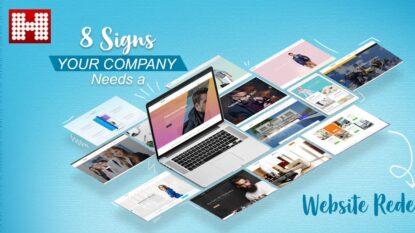 Web redesign copy