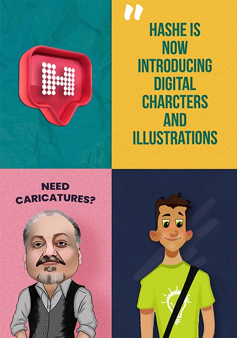 Caricature Entertainment, Graphics, Logos, CT Caricatures, Illustration, Cartoons, and Digital Art, Hashe Computer Solutions (Pvt) Ltd.